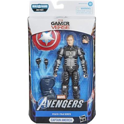 Фигурка Hasbro Avengers (GamerVerse) - Legends Series - Captain America (Stealth) E9977 (15 см)
