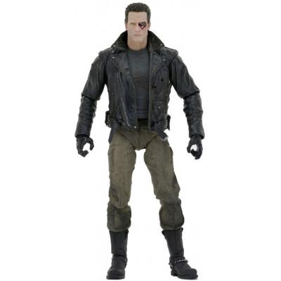 Фигурка NECA Terminator - Action Figure Ultimate - T-800 (Police Station Assault) 51912 (18 см)