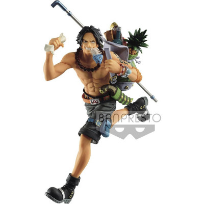 Фигурка Banpresto One Piece - Mania Produce - Three Brothers: Portgas D.Ace BP16140P (14 см)