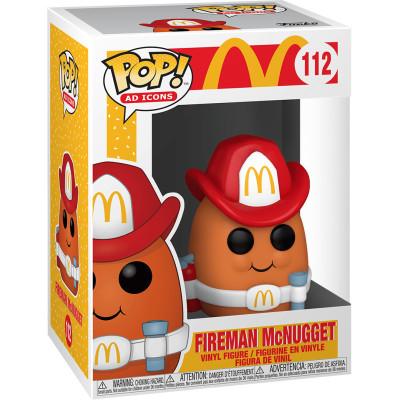Фигурка Funko McDonald's - POP! Ad Icons - Fireman McNugget 52986 (9.5 см)