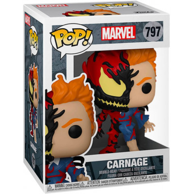 Фигурка Funko Головотряс Marvel Comics - POP! - Carnage 54615 (9.5 см)