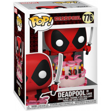 Головотряс Deadpool 30th Anniversary - POP! - Deadpool in Cake (9.5 см)