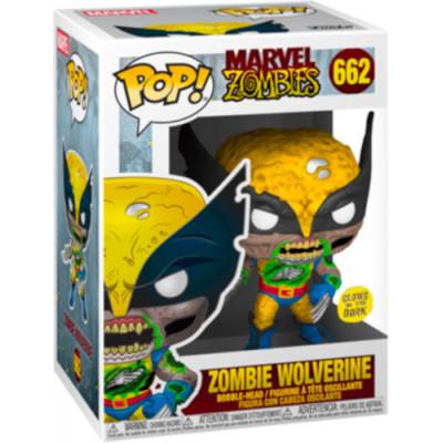 Фигурка Funko Головотряс Marvel Zombies - POP! - Zombie Wolverine (Glows in the Dark) (Exc) 36648 (9.5 см)
