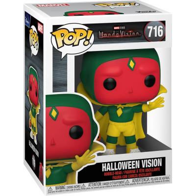 Фигурка Funko Головотряс WandaVision - POP! - Halloween Vision 52045 (9.5 см)
