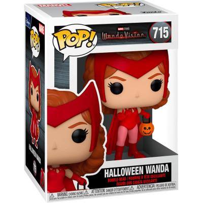 Фигурка Funko Головотряс WandaVision - POP! - Halloween Wanda 52044 (9.5 см)
