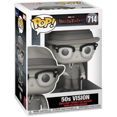 Фигурка Funko Головотряс WandaVision - POP! - 50s Vision 52043 (9.5 см)