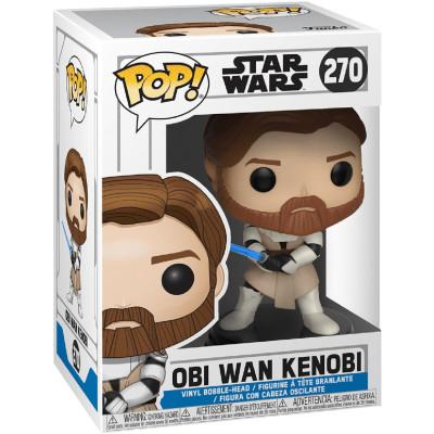 Фигурка Funko Головотряс Star Wars: The Clone Wars - POP! - Obi Wan Kenobi 31796 (9.5 см)
