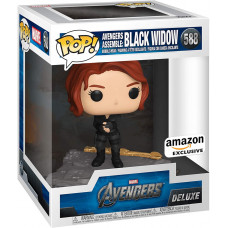 Головотряс Avengers - POP! Deluxe - Avengers Assemble: Black Widow (Exc) (14 см)