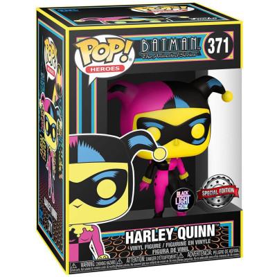 Фигурка Funko DC: Super Heroes - POP! - Harley Quinn (Black Light) (Exc) 51726 (9.5 см)