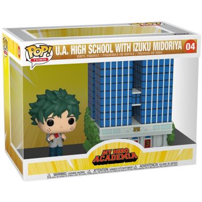 Набор фигурок Funko My Hero Academia - POP! Town - U.A High School with Izuku Midoriya 48168 (12.5 см)
