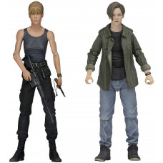 Набор фигурок Terminator 2 – Action Figure – Sarah Connor and John Connor (18 см)