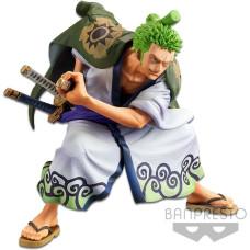 Фигурка One Piece - King of Artist - Roronoa Zoro (Wano Country Ver.) (14 см)