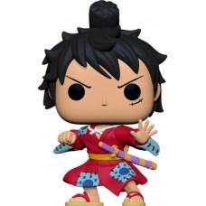 Фигурка One Piece - POP! Animation - Luffy in Kimono (Metallic) (Exc) (9.5 см)
