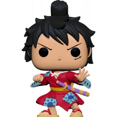 Фигурка Funko One Piece - POP! Animation - Luffy in Kimono (Metallic) (Exc) 54532 (9.5 см)