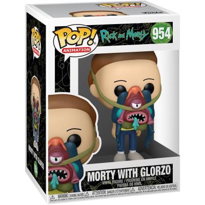 Фигурка Funko Rick & Morty - POP! Animation - Morty with Glorzo 55248 (9.5 см)