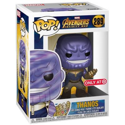 Фигурка Funko Avengers: Infinity War - POP! - Thanos (Metallic) (Exc) 31075 (9.5 см)