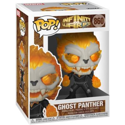 Фигурка Funko Головотряс Infinity Warps - POP! - Ghost Panther 52008 (9.5 см)