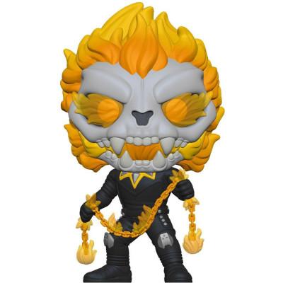 Фигурка Funko Головотряс Infinity Warps - POP! - Ghost Panther with Chain (Glows in the Dark) (Exc) 52085 (9.5 см)