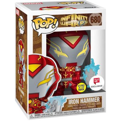 Фигурка Funko Головотряс Infinity Warps - POP! - Iron Hammer (Glows in the Dark) (Exc) 56339 (9.5 см)