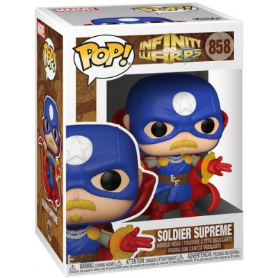 Фигурка Funko Головотряс Infinity Warps - POP! - Soldier Supreme 52006 (9.5 см)