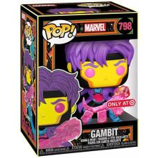 Головотряс Marvel - POP! - Gambit (Black Light) (Exc) (9.5 см)