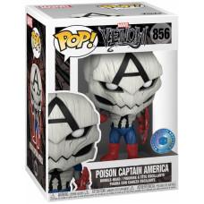 Головотряс Venom - POP! - Poison Captain America (9.5 см)