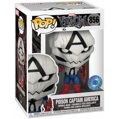 Фигурка Funko Головотряс Venom - POP! - Poison Captain America 56276 (9.5 см)