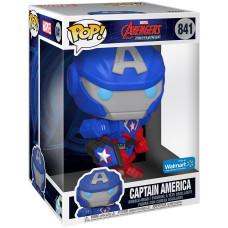 Головотряс Avengers Mech Strike - POP! - Captain America (25.5 см)