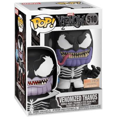 Фигурка Funko Головотряс Venom - POP! - Venomized Thanos (Glows in the Dark) (Exc) 44818 (9.5 см)