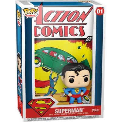 Фигурка Funko Superman - POP! Comic Covers - Action Comic #1 50468 (9.5 см)
