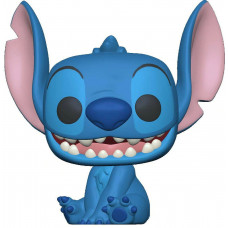 Фигурка Lilo & Stitch - POP! - Smiling Stitch Seated (Flocked) (9.5 см)