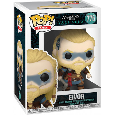 Фигурка Funko Assassins Creed: Valhalla - POP! Games - Eivor 51967 (9.5 см)