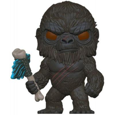 Фигурка Funko Godzilla Vs Kong - POP Movies - Kong with Scepter (Flocked) 55601 (9.5 см)