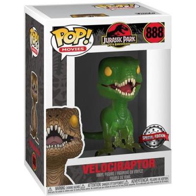 Фигурка Funko Jurassic Park 25th Anniversary - POP! Movies - Velociraptor (Exc) 47624 (9.5 см)