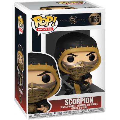 Фигурка Funko Mortal Kombat (2021) - POP! Movies - Scorpion (Metallic) 53851 (9.5 см)