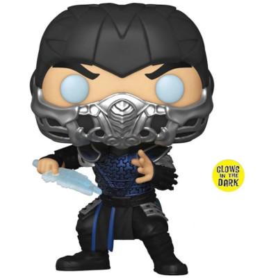 Фигурка Funko Mortal Kombat (2021) - POP! Movies - Sub-Zero (Glows in the Dark) 55647 (9.5 см)