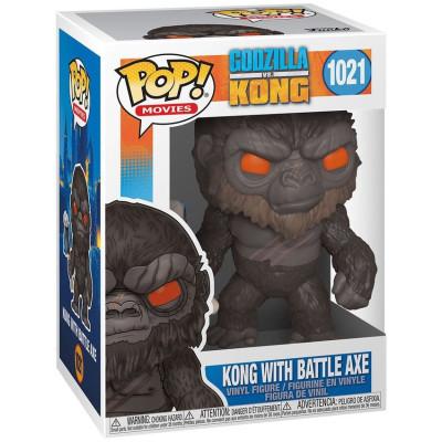 Фигурка Funko Godzilla Vs Kong - POP Movies - Kong with Battle Axe 50953 (9.5 см)