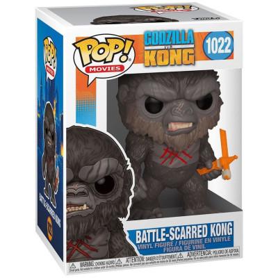 Фигурка Funko Godzilla Vs Kong - POP Movies - Battle-Scarred Kong 50954 (9.5 см)