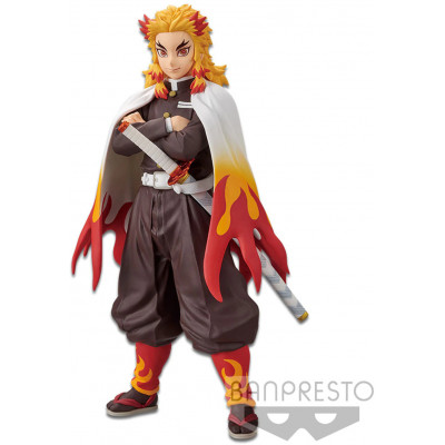 Фигурка Banpresto Demon Slayer: Kimetsu no Yaiba - Vol.10- Kyojuro Rengoku BP16957P (17 см)