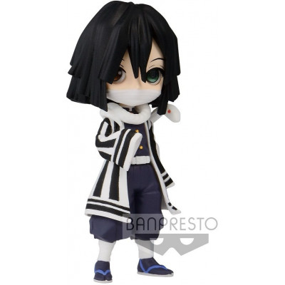 Фигурка Banpresto Demon Slayer: Kimetsu no Yaiba - Q posket Petit Vol.3 - Obanai Iguro BP17628P (7 см)