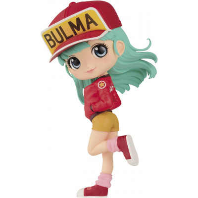 Фигурка Banpresto Dragon Ball - Q Posket - Bulma II (Ver.A) BP17633P (14 см)