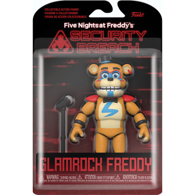 Фигурка Funko Five Nights at Freddy's: Security Breach - Action Figure - Glamrock Fred 47490 (17 см)
