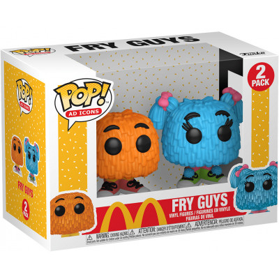 Набор фигурок Funko McDonald's - POP! Ad Icons - Fry Guy 47761 (9.5 см)