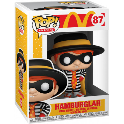 Фигурка Funko McDonald's - POP! Ad Icons - Hamburglar 45724 (9.5 см)
