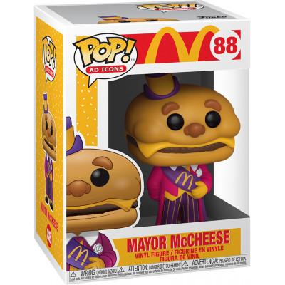 Фигурка Funko McDonald's - POP! Ad Icons - Mayor McCheese 45725 (9.5 см)