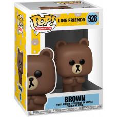 Фигурка Line Friends - POP! Animation - Brown (9.5 см)