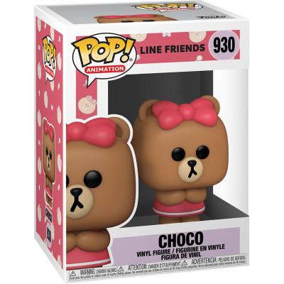Фигурка Funko Line Friends - POP! Animation - Choco 48154 (9.5 см)