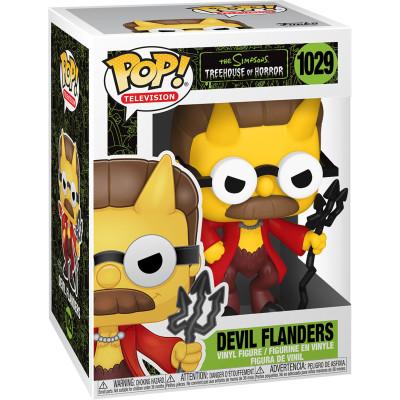 Фигурка Funko The Simpsons: Treehouse of Horror - POP! TV - Devil Flanders 50141 (9.5 см)