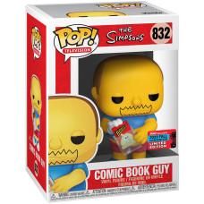 Фигурка The Simpsons - POP! TV - Comic Book Guy (Exc) (9.5 см)
