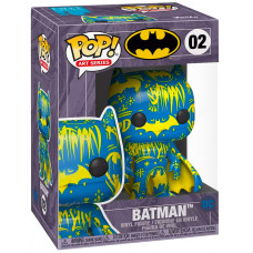 Фигурка Batman - POP! Art Series - Batman (Blue/Yellow) (Exc) (9.5 см)